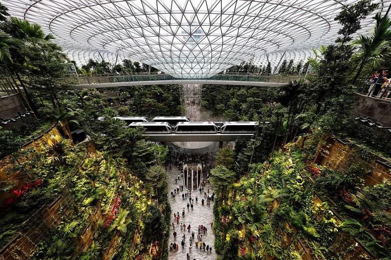 Лучший аэропорт мира Чанги