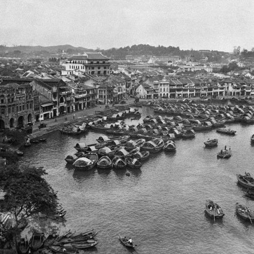Сингапур 50 лет назад