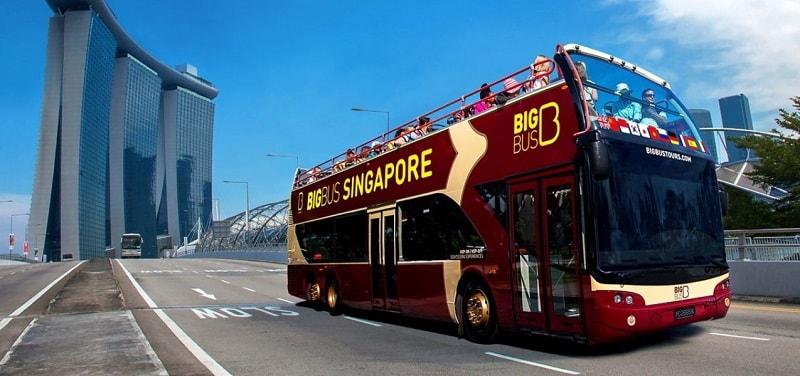 Автобусы в сингапуре
