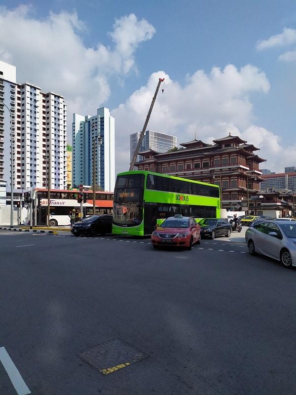 автобус в сингапуре