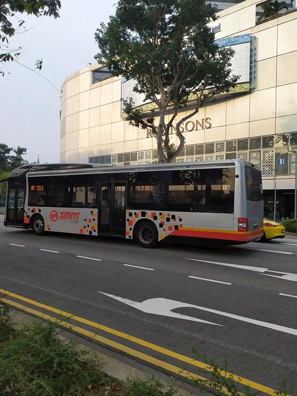 SMRT автобусы