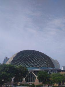 Достопримечательности Сингапура театр Эспланада
