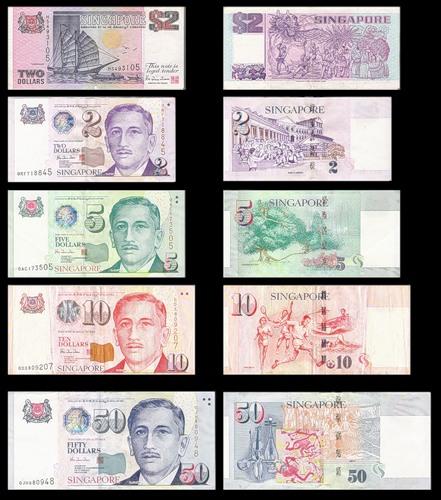 Бумажные деньги Сингапура