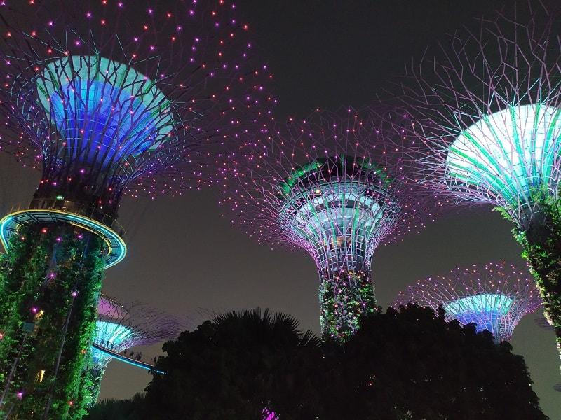 парки в сингапуре