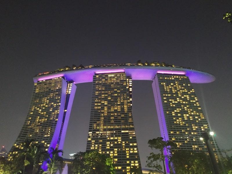 Ночной отель Marina Bay