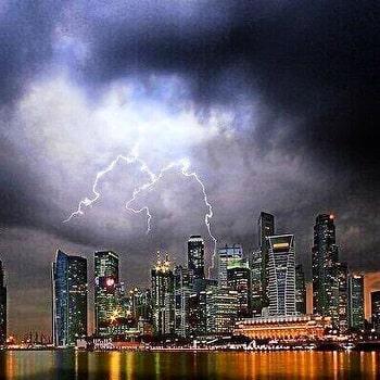 дожди в Сингапуре