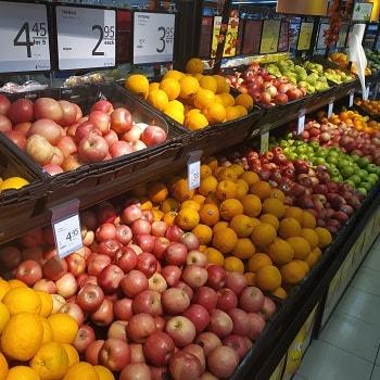 цены на фрукты в синагпуре
