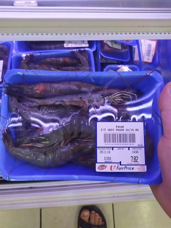 сингапур морепродукты