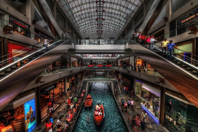 Торговый центр The Shoppers