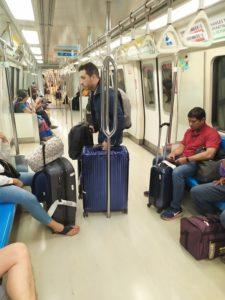 Вагон метро в Сингапуре