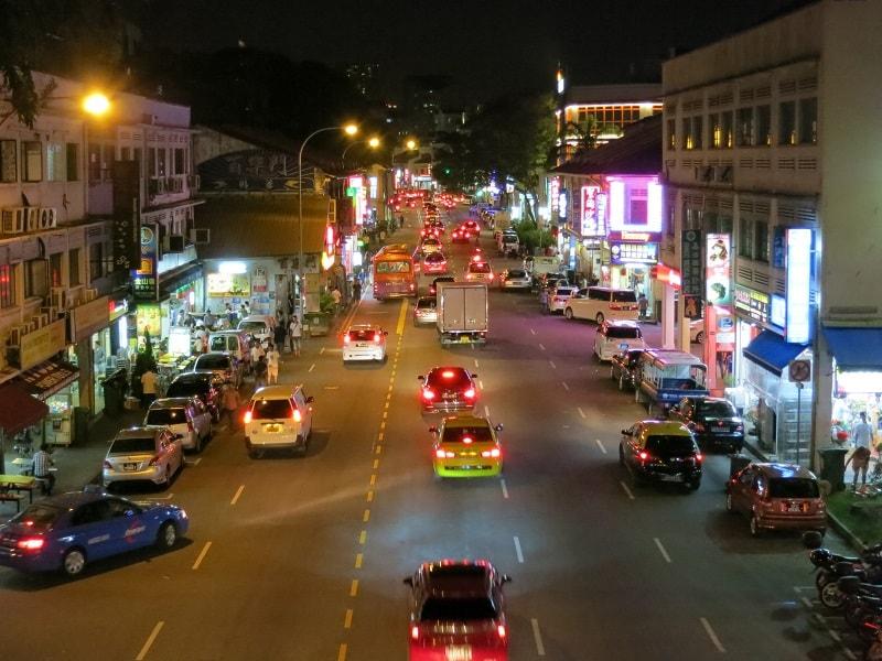 район гейланг в сингапуре
