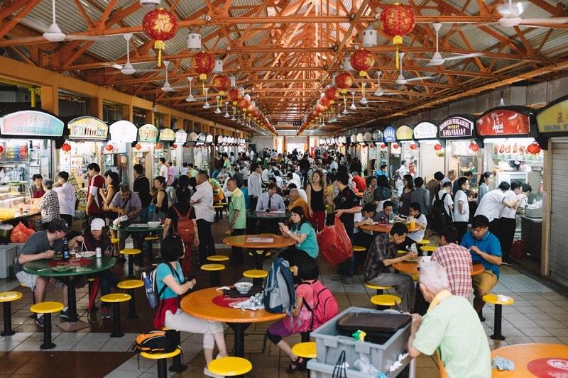 продуктовые рынки сингапура