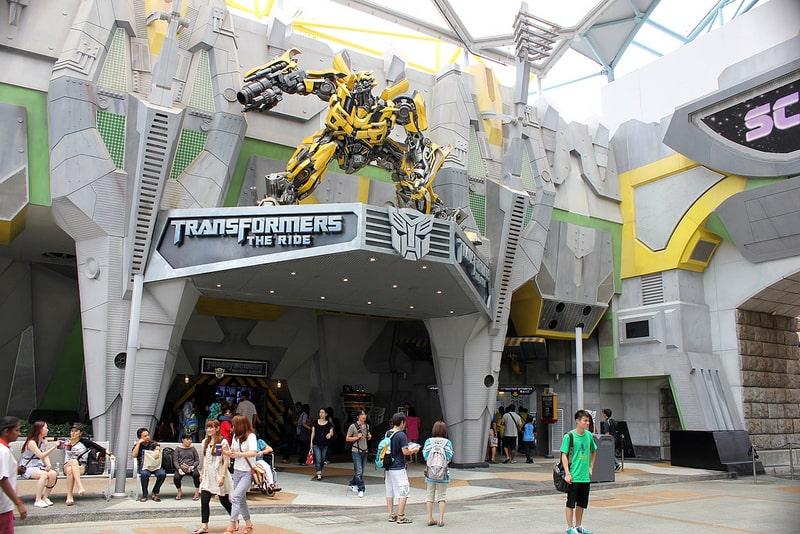 парк развлечений сингапура