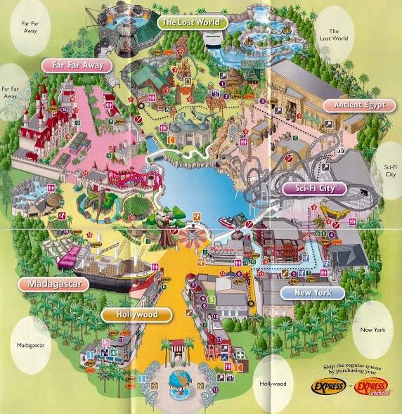 парк развлечений Юниверсал