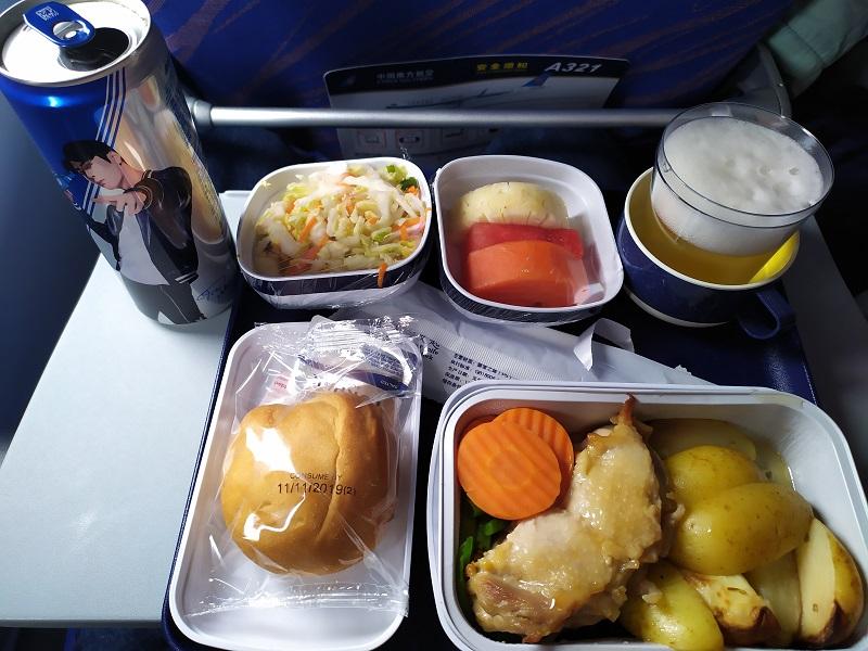 питание на борту в сингапур