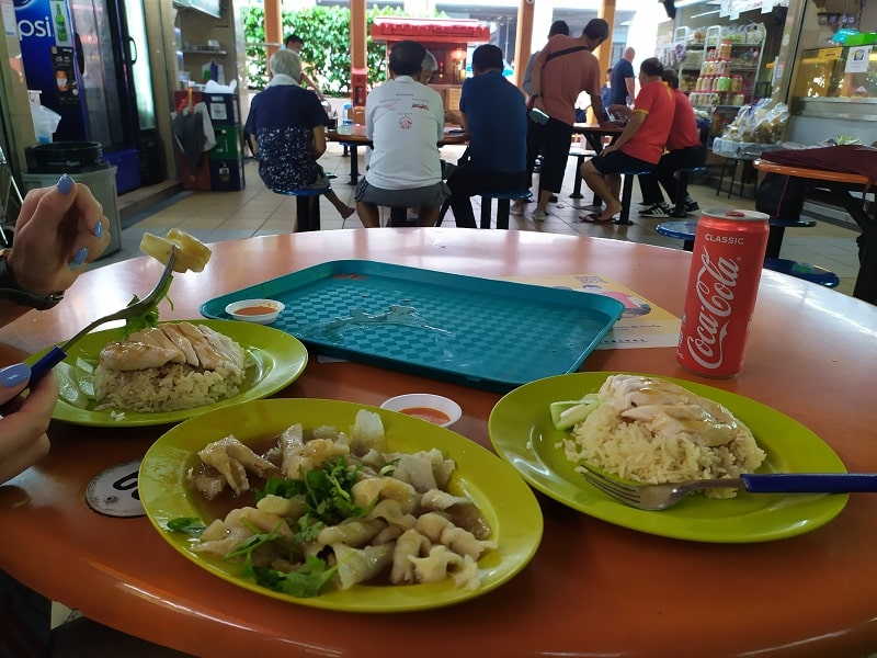 фудкорты на рынках сингапура