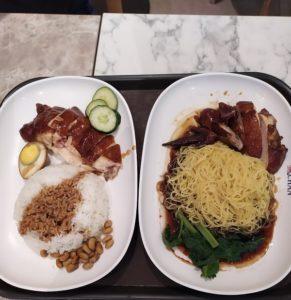 уличная еда в сингапуре
