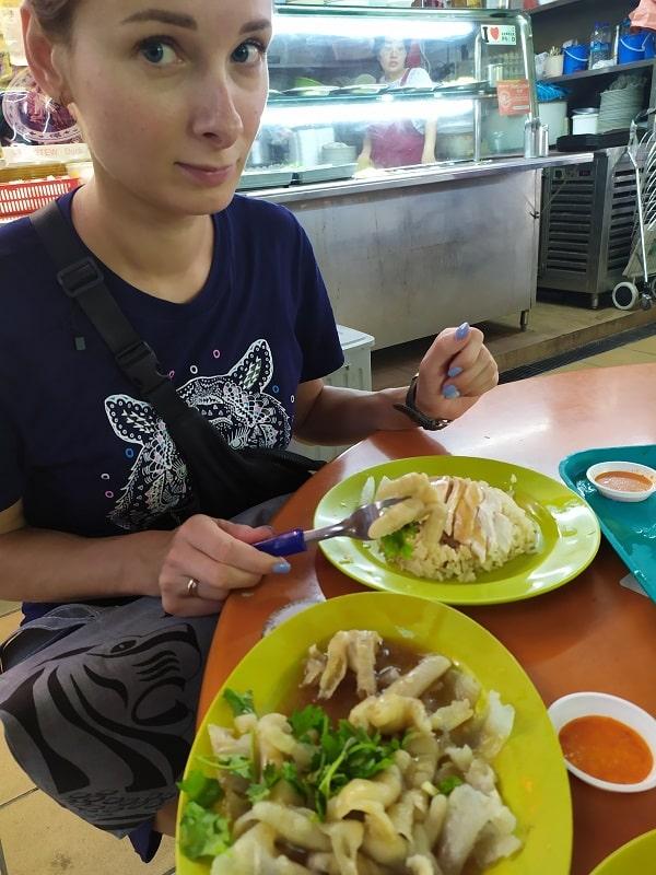 ужин в лучшем ресторане сингапура