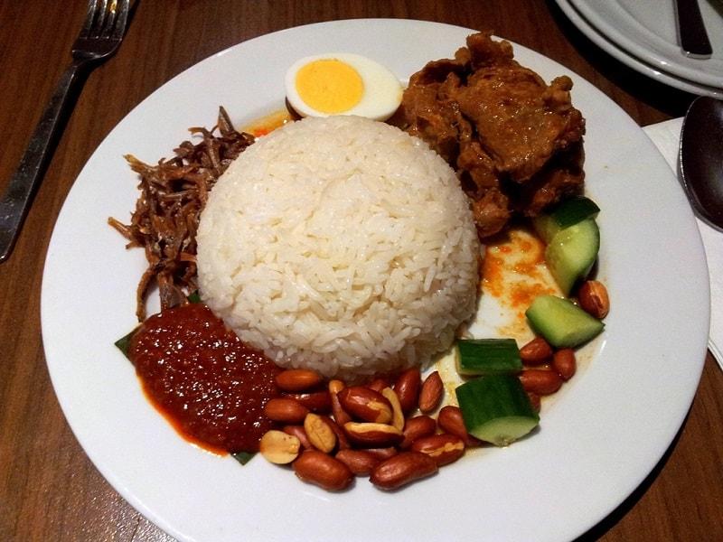 блюда сингапурской кухни