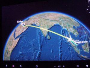 расстояния от сингапура до столиц мира и москвы
