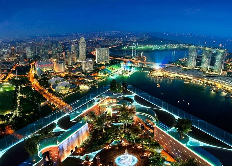 смотровая площадка в сингапуре