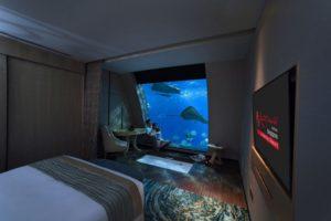 отель в океанариуме