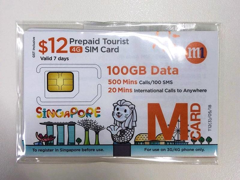 сим карта в сингапуре