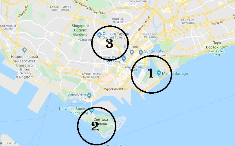 сингапур за 2 дня