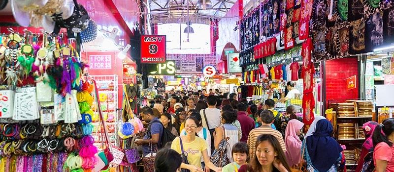рынки Сингапура