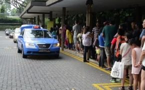 сингапур такси