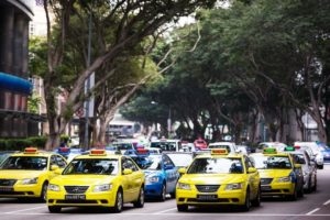цена такси сингапур