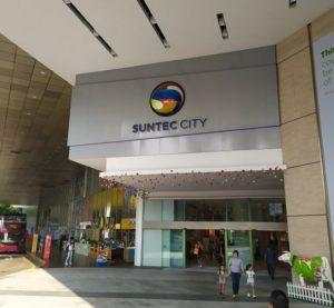 Начальная точка обзорных экскурсий suntec city