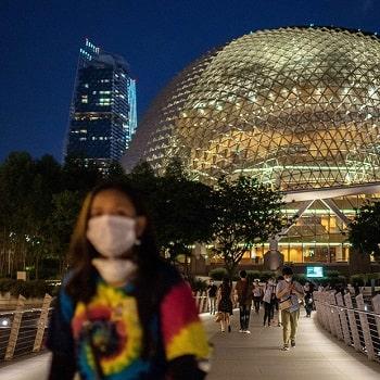 ковид в сингапуре